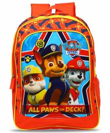 Paw Patrol School Bag Red - 14 Inches