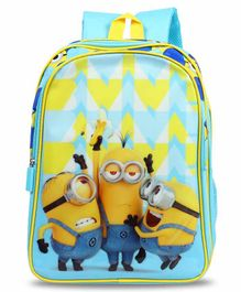 Minions School Bag Blue - 14 Inches