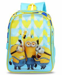 Minions School Bag Blue - 16 Inches