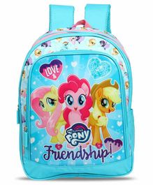 My Little Pony School Bag Blue - 16 Inches