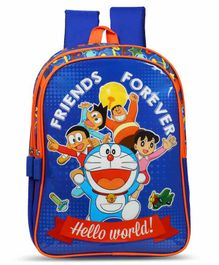 Doraemon Friends Forever School Bag - 14 Inches