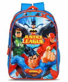 DC Comics Justice League Backpack Blue - 14 Inches
