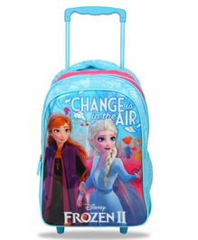 Disney Frozen 2 Trolley Bag Blue - 16 Inches