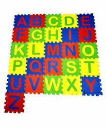 Ultimate Alphabet Puzzle Mat Multicolor - 26 Pieces