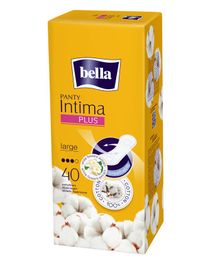 Bella Intima Plus Large Panty Liners - 40 Pieces