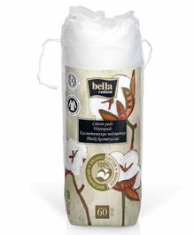 Bella Bio Organic Cotton Pads - 60 Pieces