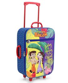 Chhota Bheem Trolley Luggage Bag - Multicolor
