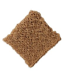 Bembika Newborn Layering Basket Stuffer Bump Blanket Photography Prop - Brown