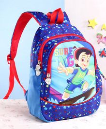 Chhota Bheem School Bag Blue - 13 Inches