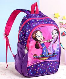 Chhota Bheem School Bag Purple - 13 Inches