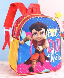 Chhota Bheem School Bag Red - 12 Inches