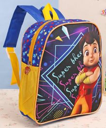 Chhota Bheem School Bag Blue - 12 Inches