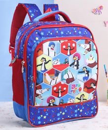 Beo n Peno School Bag Blue - 14 Inches