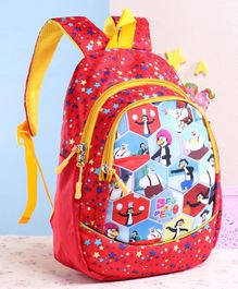 Beo n Peno School Bag Red - 13 Inches