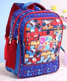 Beo n Peno School Bag Blue - 17 Inches
