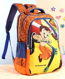 Chhota Bheem School Bag Orange - 18 Inches