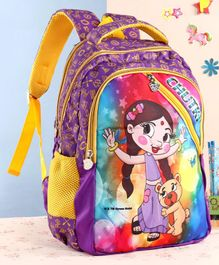 Chutki School Bag Purple - 18 inches