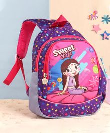 Chutki School Bag Purple - 12 Inches