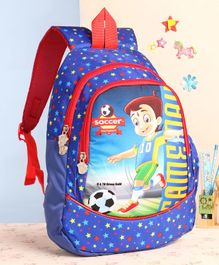 Chhota Bheem School Bag Blue - 14 Inches