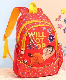 Chhota Bheem School Bag Red - 15 Inches