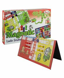 Annie Magnetic Ludo Snakes And Ladder
