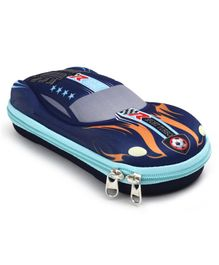 Pencil Pouch Car Design - Blue