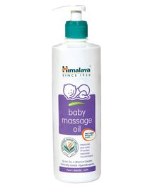 Himalaya Herbal Baby Massage Oil Dispenser Bottle - 500 ml