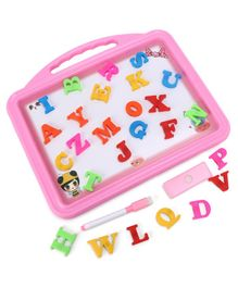 2 in 1 Magnetic Writing Board - Pink