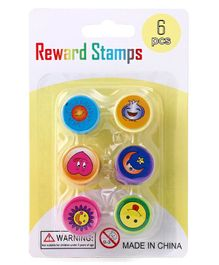Baby Color Stamps Pack of 6 - Multicolor