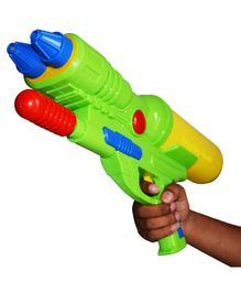 Planet of Toys Water Gun For Holi - Green Yellow