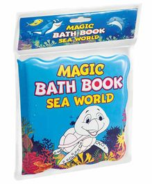 Dreamland Publications Magic Bath Book Sea World Theme - English