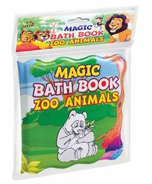 Dreamland Publications Magic Bath Book Zoo Animals Theme - English