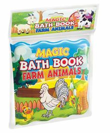 Dreamland Publications Magic Bath Book Farm Animals Theme - English