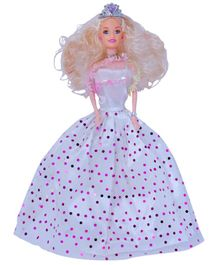 Planet of Toys Princess Doll White  - Height 29 cm