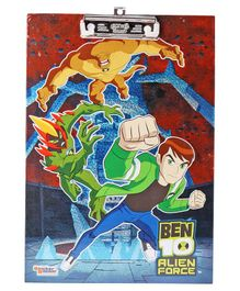 Ben 10 Exam Board - Multicolor