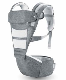 R for Rabbit Upsy Daisy Smart Ergonomic 2 Way Carry Baby Carrier - Grey