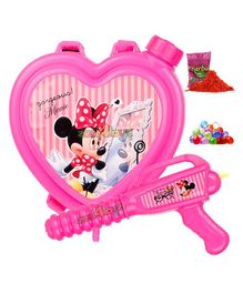 Zest 4 Toyz Holi Water Gun with 1.5 Litres Storage Tank Minnie Mouse Print - Pink