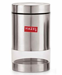 Hazel Stainless Steel Transparent Container Silver - 700 ml