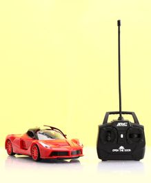 Remote Control Car with Charger - Red