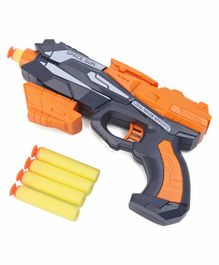 Soft Shot Gun with Darts - Orange