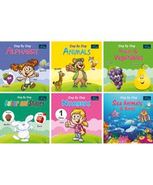 Book Ford Publications 6 in 1 Combo of Step by Step Books  - English