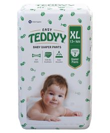 Teddyy Baby Easy Pant Style Diapers Extra Large - 7 Pieces
