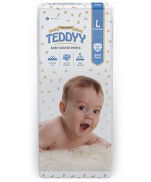 Teddyy Baby Premium Pant Style Diapers Large - 32 Pieces