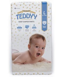 Teddyy Baby Premium Pant Style Diapers Large - 46 Pieces