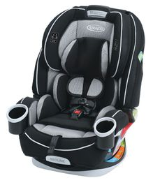 Graco 4 In 1 Convertible Car Seat - Grey Black