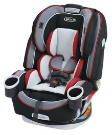 Graco 4 In 1 Convertible Car Seat - Grey Red