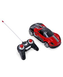 Remote Control Toy Car with Lights - Red