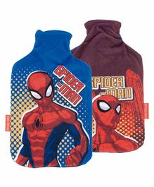 Arditex Hot Water Bag with Textile Cover Spiderman Design 1 Piece Multicolor - Capacity 2 Litres