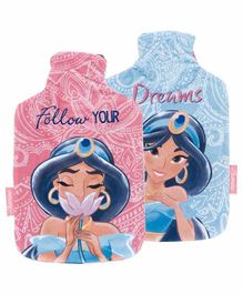Arditex Hot Water Bottle with Textile Cover Disney Jasmine Design - Capacity 2 Litres