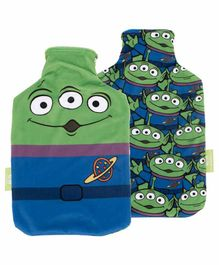 Arditex Hot Water Bottle with Textile Disney Pixar Design - Capacity 2 Litres